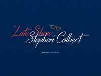 Late Show with Stephen Colbert | Logo Redesign