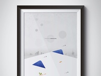 Snow Occurs, Statuses Arise | Illustration Poster