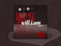 will.i.am 'Heartbreaker' Vinyl | Typography Project