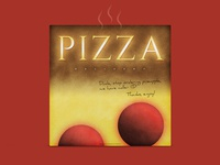 Pizza Packaging 'Nagaoka Style' | Typographical Project