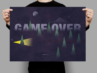 Game Over | Typographical Project
