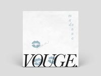 Madonna 'Vogue' | Vinyl Sleeve Design