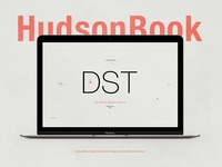 HudsonBook | Typographical Project