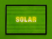 Solar | Typographical Project