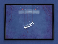 Brexit | Typographical Poster
