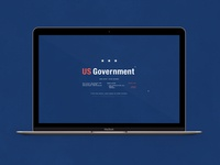 US Government Shutdown | Typography Project