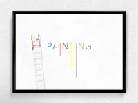 Painting | Typographical Poster
