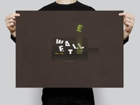 Wallet | Typographical Poster