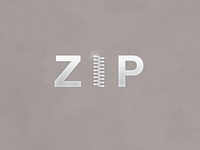 Zip | Typographical Poster