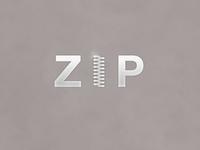 Zip | Typographical Poster