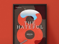 The Hateful 8 | Typographical Poster