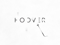 Hoover | Typographical Poster