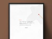 Misery | Movie Poster Design