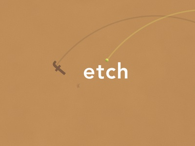 Fetch | Typographical Poster