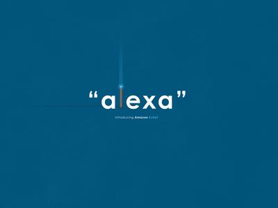 Alexa | Typographical Poster