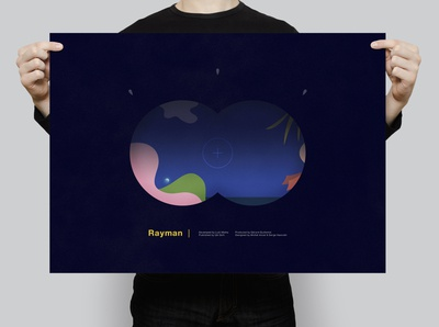 Rayman | Typographical Poster