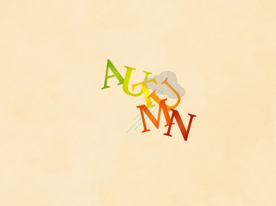 Autumn | Typographical Poster