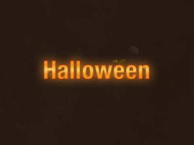 Halloween | Typographical Poster