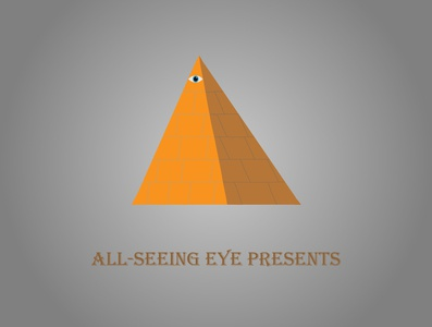All seeing eye logo vector branding illustration design logodesign triangle logo triangle pyramid illuminati eye