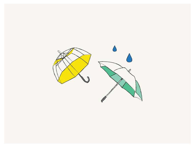rain down vector design illustration