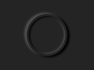 Neumorphism Circle