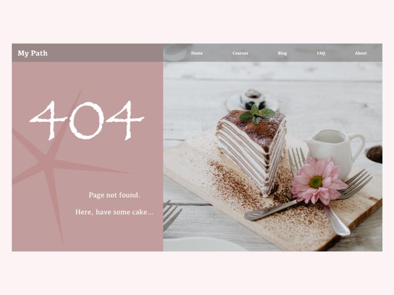 Daily UI 008 - 404 Page ui design dailyui 008 dailyui