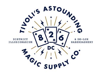 826DC Badge dc 826 badge magic