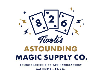 New Storefront Logo for 826DC dc courier futura cards magic 826 wes anderson