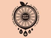 Keep it peachy!