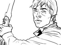 Luke Sketch