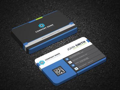 Business card design personal orange modern template modern design modern minimalist line green elegant design cyan creative corporate clean card design business card business blue black
