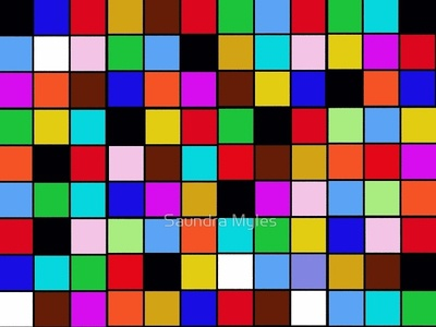 Color Blocks colorful colors logo illustration design branding
