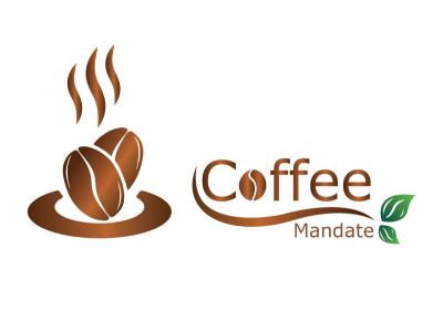 coffee logo design business card art flat animation illustrator vector business illustration logo design branding
