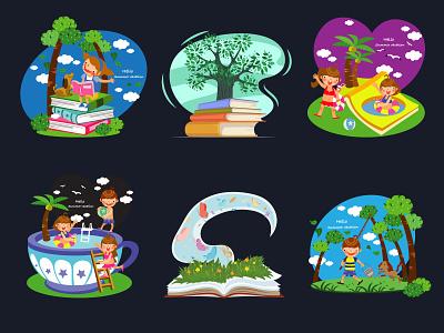 Grand Opening Background Design logo design branding