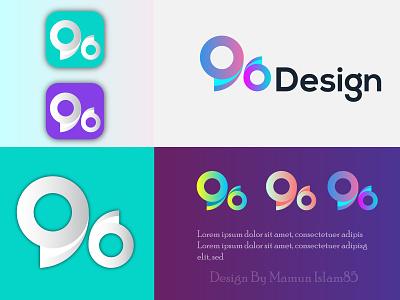 96 Logo Design typography animation illustrator vector illustration business logo design logo design branding logotype logodesign 96
