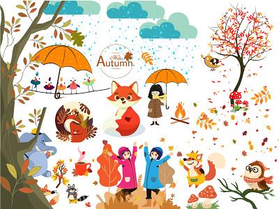 Autumn Design | Autumn Elements | Autumn Design | Autumn graphicdesignblg graphicdesigning graphicsdesigner graphicdesigns graphicdesigndaily graphicdesigners designgraphic graphicsdesign graphicdesigncentral graphicdesigner graphicdesign branding