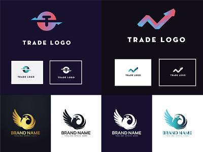 Trade Logo Design branding logo motion graphics graphic design 3d animation