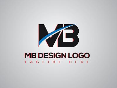 MB Logo Design animation graphic design logo branding motion graphics 3d