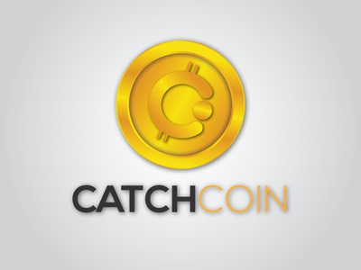 CatchCoin logo branding graphic design motion graphics animation 3d coinbace fastcoin coin