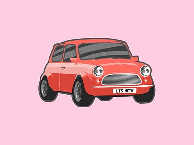 Little speedy bean cars design vector illustration