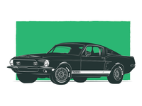 Famous Muscle - Shelby GT500 KR