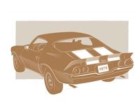 Famous Muscle - 1972 Camaro Z28