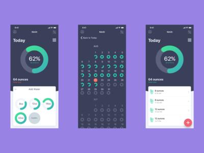 New iOS screens