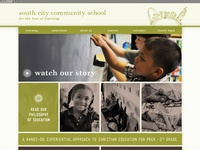 Website Layout for Elementary School