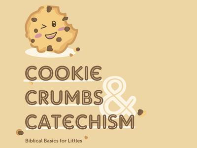 Nursery Catechism Curriculum bible basics bible crumbs curriculum nursery church cookie