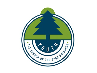 Logo for Youth Ministry badge emblem church youth ministry youth tree
