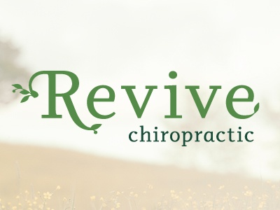Revive Chiropratic healing wholeness growth revive logo chiropractic