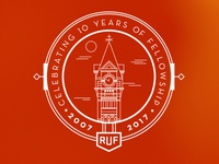 RUF at Auburn Reunion T-shirt Design
