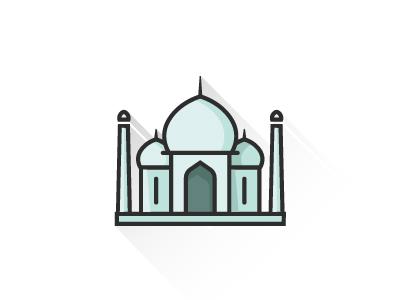 Taj Mahal web icon