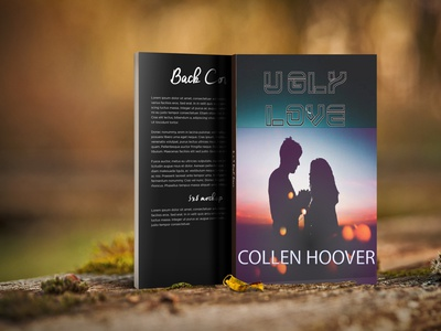 REdesign of UGLY LOVE typhography graphic design ilustration design typedesign typeface design book redesign concept